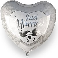 Riesenballon Just Married bei Valentins