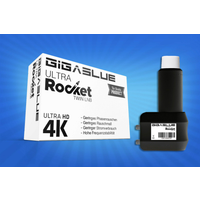 Gigablue Ultra Rocket Twin Multifeed LNB 40mm Feed 0.1dB Full HD bei HM-Sat